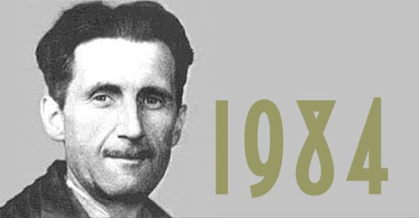 """""""1984"""", George Orwell."""